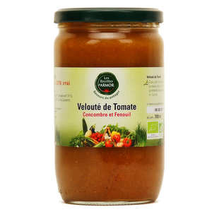 Les recettes d'Armor - Organic tomato, cucumber & fennel soup