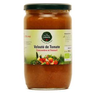 Les recettes d'Armor - Velouté de tomate et concombre au fenouil bio
