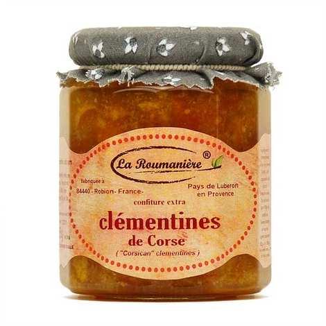 La Roumanière - Confiture de clémentines de Corse