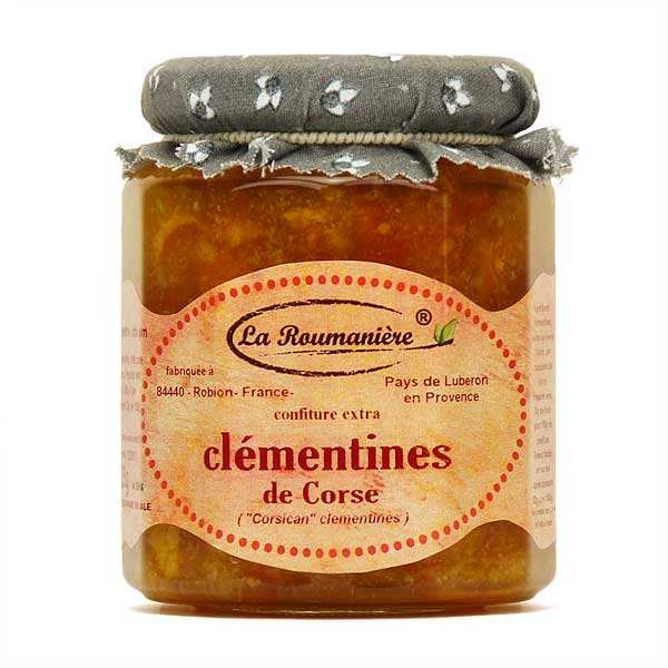 Clementine jam from Corsica