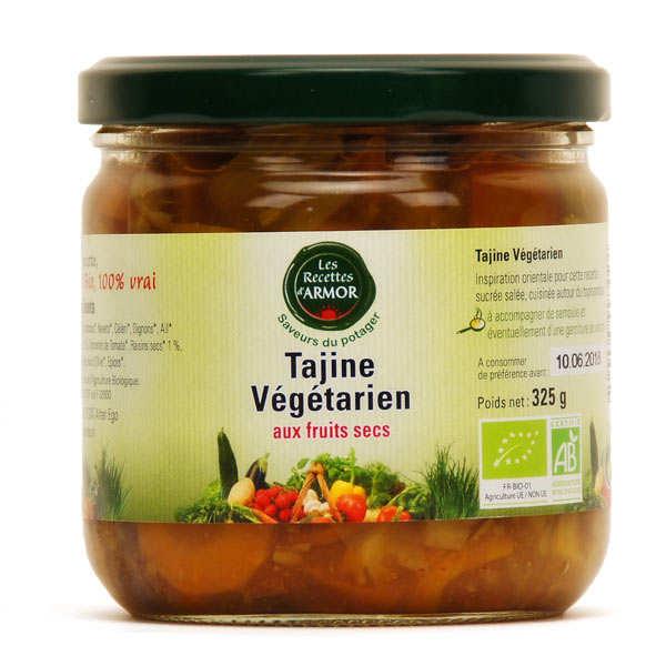 Tajine végétarien aux fruits secs bio