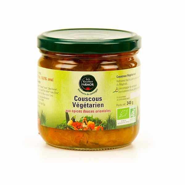 Organic spiced vegetarian couscous