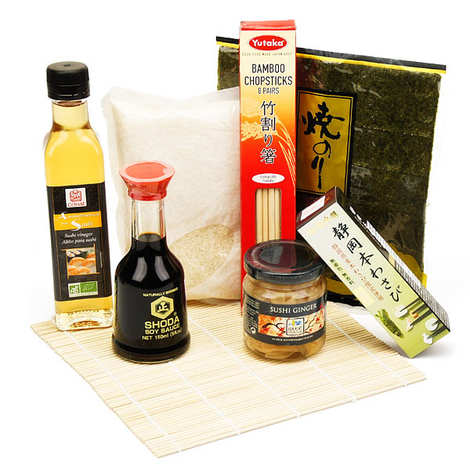- Kit sushi expert