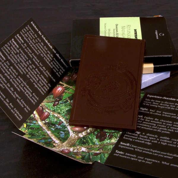 Tablette de chocolat noir  85% - Puristique - Origine Ghana - Bio