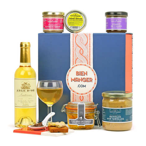 BienManger paniers garnis - Gift box Foie Gras from the South West of France