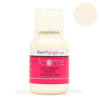 BienManger aromes&colorants - Colorant alimentaire blanc troublant