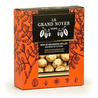 Le Grand Noyer - Toasted Macadamia Nuts with Sichuan Peppercorns