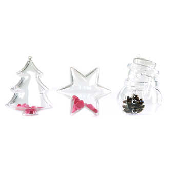 - Ready-to-fill Christmas ornament - Star