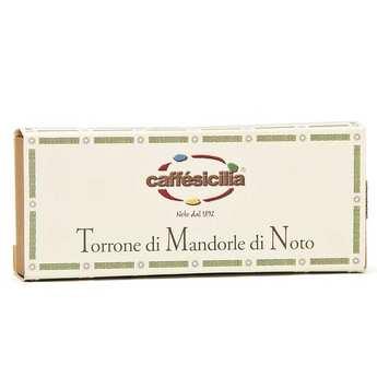 Caffe Sicilia - Nougat tendre d'amandes de Noto