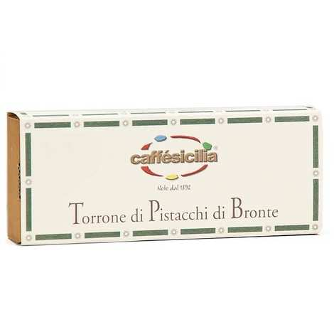 Caffe Sicilia - Nougat italien aux pistaches de Bronte (55%)
