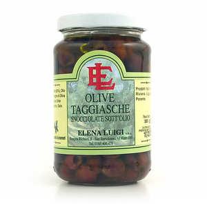 Elena Luigi - Olives taggiasche dénoyautées à l'huile d'olive