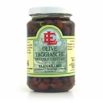 Elena Luigi - Stoned Taggiasche olive in olive oil