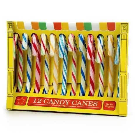 - Old-Fashioned Candy Canes - Fruit Flavours