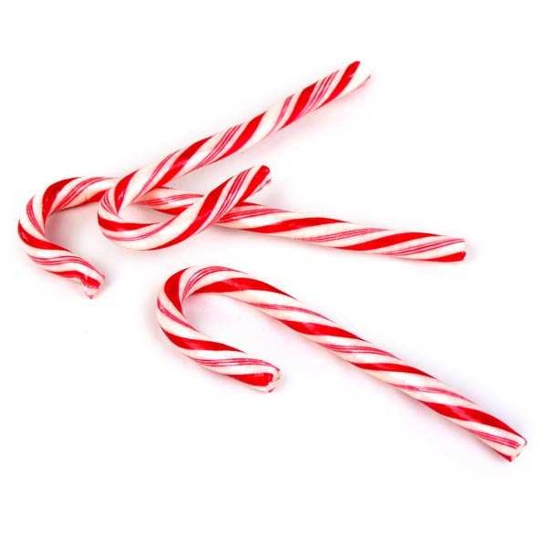 Old-Fashioned Candy Canes - 72 pieces