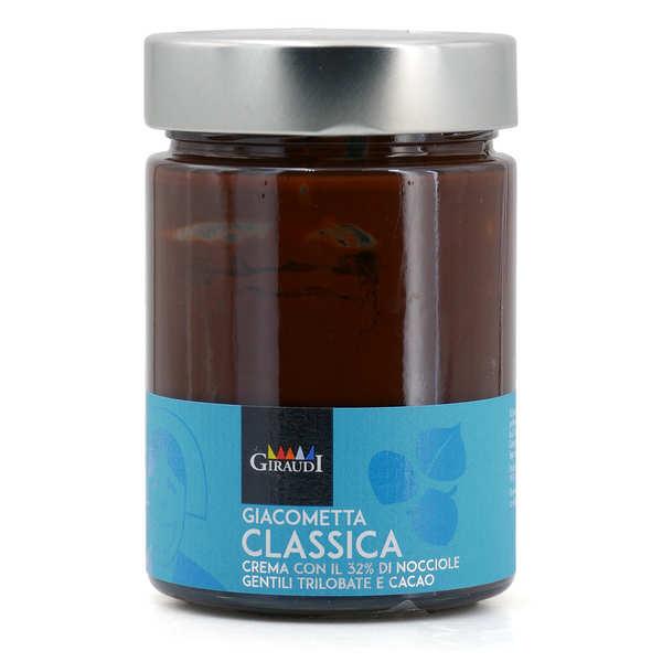 Giacometta - Pâte à tartiner au chocolat et aux noisettes