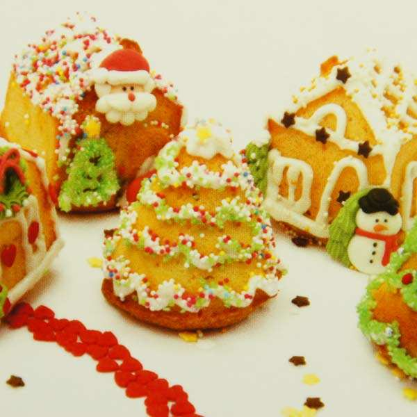 Silicone mould - Christmas Village