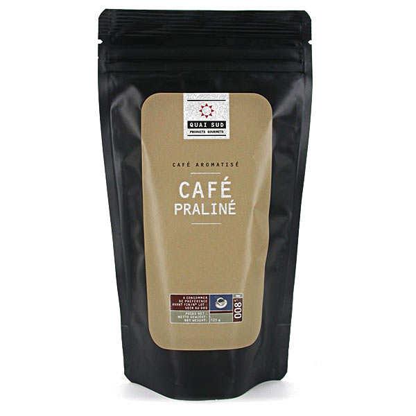 Café aromatisé praliné