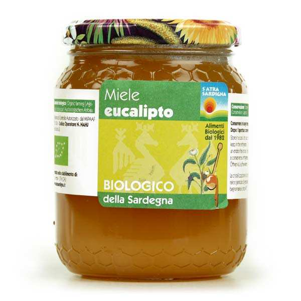 Organic Eucalyptus honey (500g)
