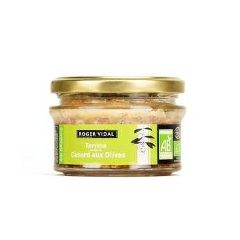 Roger Vidal - Organic duck terrine with olives