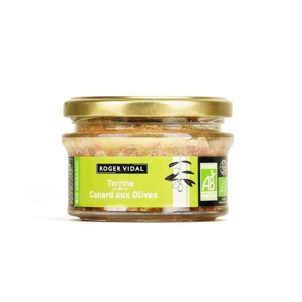 Terrine de Canard aux olives Bio