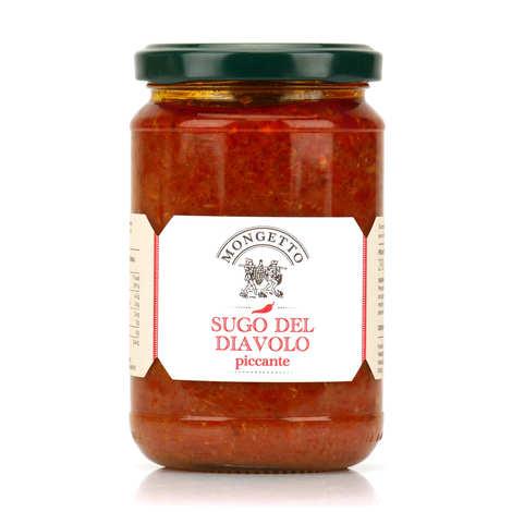 Il Mongetto - Sugo del Diavolo - Sauce tomate artisanale italienne au thon épicée