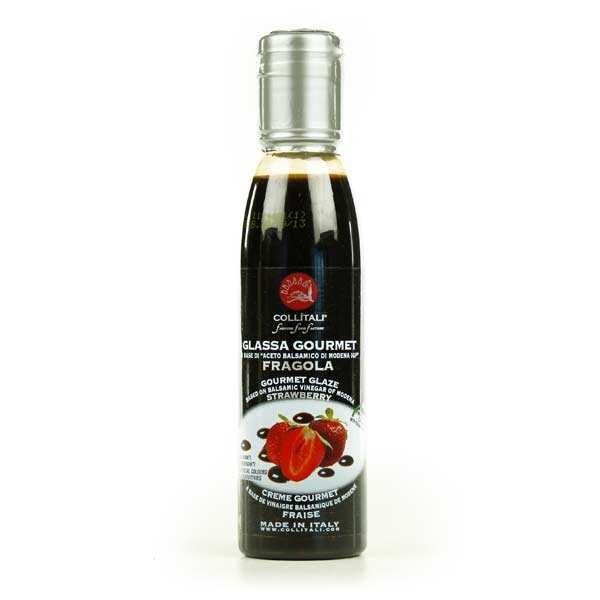 Crème balsamique à la fraise