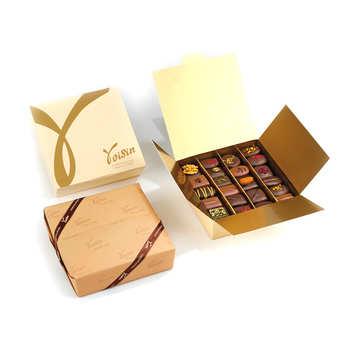 Voisin chocolatier torréfacteur - Ballotin Prestige de chocolats - Voisin