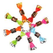 Voisin chocolatier torréfacteur - Papillotes Voisin assorties (chocolat et pâtes de fruits)