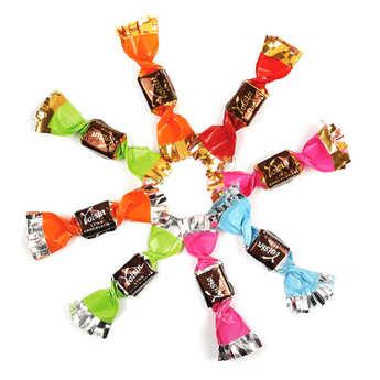 Voisin chocolatier torréfacteur - Papillotes Voisin assorties (chocolat)
