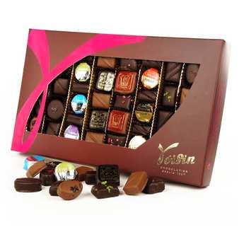 Voisin chocolatier torréfacteur - Boite de chocolats 'Grands classiques' - Voisin