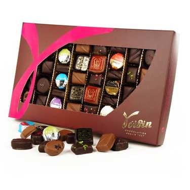 Boite de chocolats 'Grands classiques' - Voisin