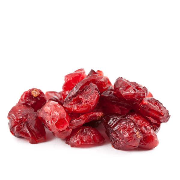 Baies de cranberry / canneberge séchées et sucrées