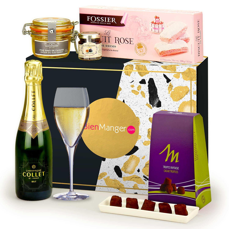 Coffret cadeau Foie Gras et Champagne