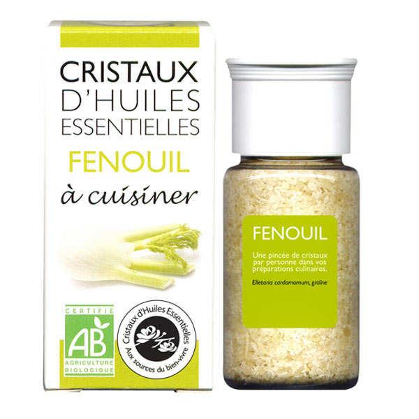 Fenouil - Cristaux d'huiles essentielles à cuisiner - Bio