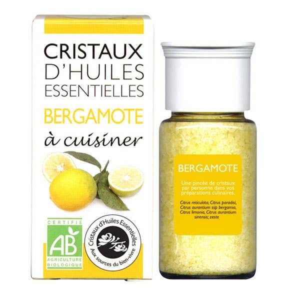 Bergamote - Cristaux d'huiles essentielles à cuisiner - Bio