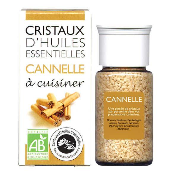 Cannelle - Cristaux d'huiles essentielles à cuisiner - Bio