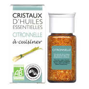 Aromandise - Organic essential oil crystals - Lemongrass