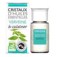 Aromandise - Verveine - Cristaux d'huiles essentielles à cuisiner - Bio