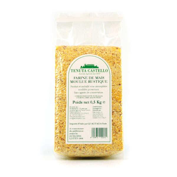 Farine de maïs artisanale moulue rustique - Polenta