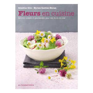 Terre Vivante Editions - Book - Fleurs en cuisine