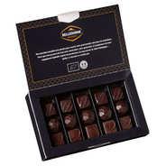 Belledonne Chocolatier - Ballotin de 16 chocolats bio - assortiment noir lait et blanc