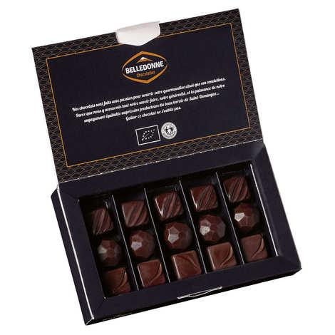 Belledonne Chocolatier - Organic Dark & Milk Chocolate Assortment x16