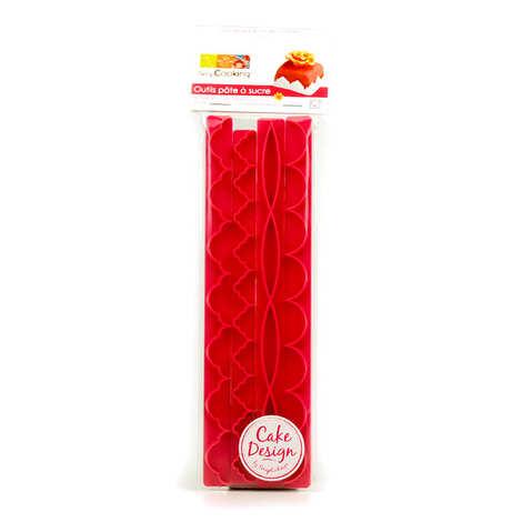 ScrapCooking ® - Frises décoratives - outils de modelage pour pâte à sucre