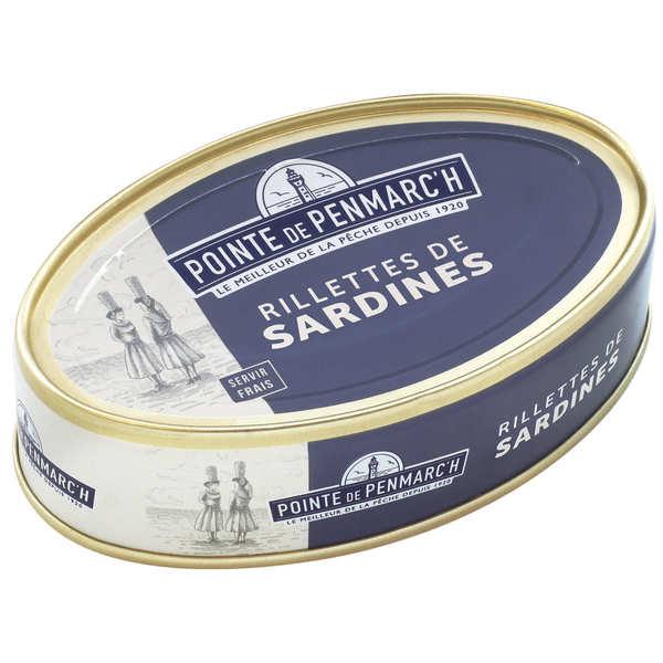 Rillettes de sardines - La pointe de Penmarc'h - BienManger.com