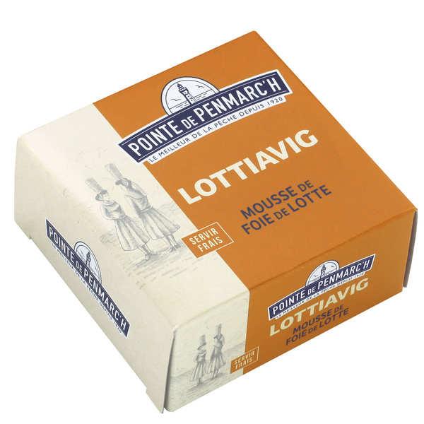 Lottiavig - Mousse de foie de lotte