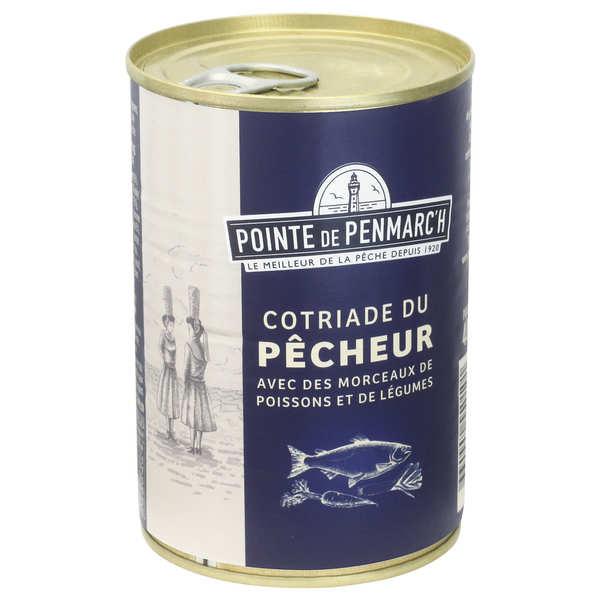 Cotriade du Pêcheur- soupe de poissons avec morceaux