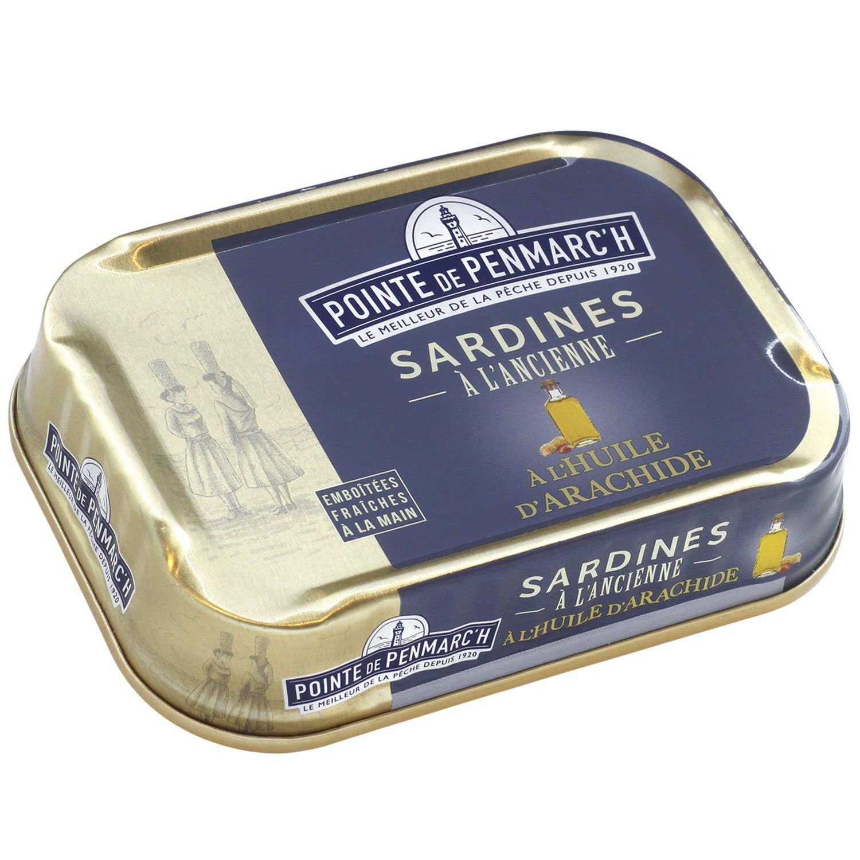 Sardines - Peanut oil