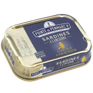 La pointe de Penmarc'h - Sardines - Peanut oil