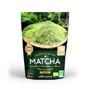 Aromandise - Organic Matcha Green Tea Powder