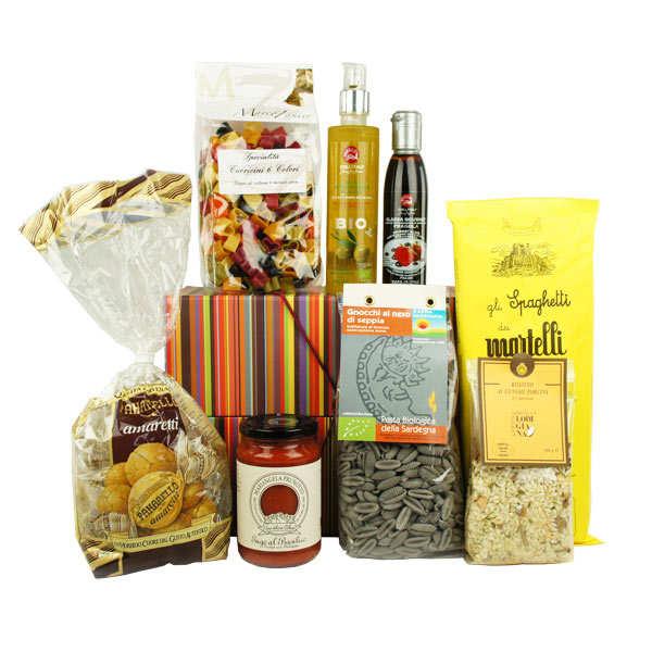 coffret cadeau gastronomique italien - bienmanger paniers garnis - Box Cadeau Cuisine